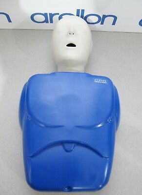 NASCO CPR PROMPT Adult / Child Training and Practice Manikin - Blue