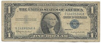 US Rare Very Old WWII War Dollar WW2 USA Silver Certificate Note Collection 106
