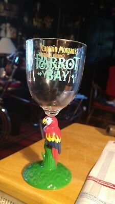 5-Captain Morgan Parrot Bay Plastic Drinking Cocktail Cup Party Glass Tropical