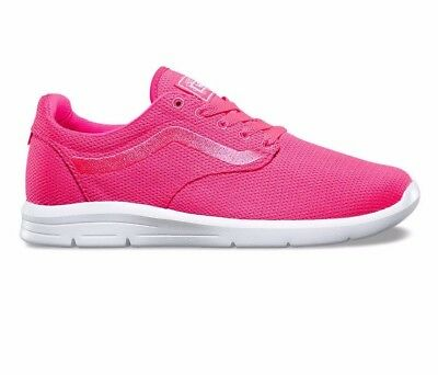 VANS ISO 1.5 (Mesh) Knockout Pink UltraCush Trainer Shoes WOMEN S Size 9.5 596943b99