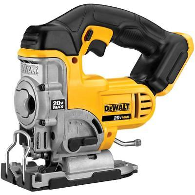 Dewalt 20V Max Lithium-Ion Cordless Jig Saw (Tool-Only)