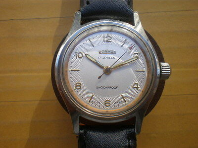 Herrenuhr ROAMER 17 Jewels,HANDAUFZUG,SWISS,1958's