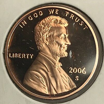 2006-S Lincoln Memorial Cent Proof. Collector Coin For Your Set. 1