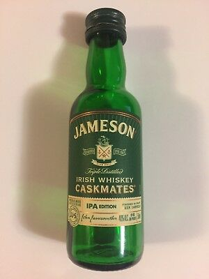 Jameson Irish Whiskey Caskmates Ipa Edition Collector Mini Bottle 50 Ml Empty