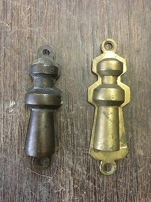 Vintage Brass Key Hole Covers X 2