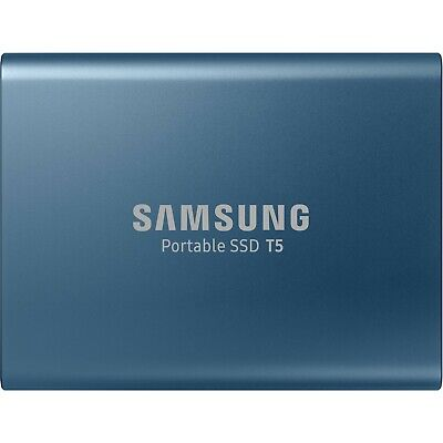 Samsung 500GB T5 Portable Solid-State Drive Blue
