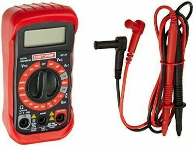 Craftsman 8 Function Digital Multimeter 34-82141 Volt Tester Voltmeter + Battery