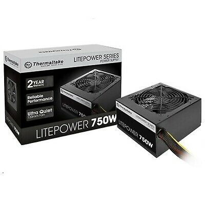 Thermaltake Litepower Gen 2 Non Modular 750W ATX Power Supply PSU for Desktop PC