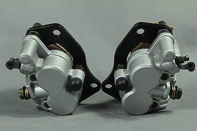 New Front Brake Caliper For SUZUKI BURGMAN AN 400 2007-2011 Left&Right With Pads