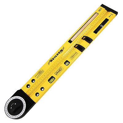 MULTI FUNCTION RULER ANGLE FINDER SPIRIT LEVEL 500mm / 20inch 0-270° Hy Duty 852