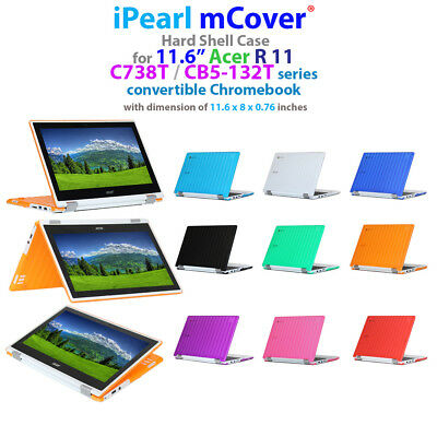 """iPearl mCover® Hard Case for 11.6"""" Acer Chromebook R11 CB5-132T C738T Laptop"""