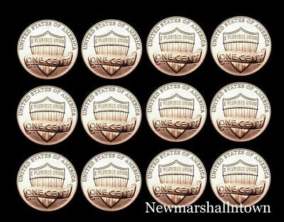 2013 2014 2015 2016 2017 2018 P+D Lincoln Shield Set Mint from Bank Roll
