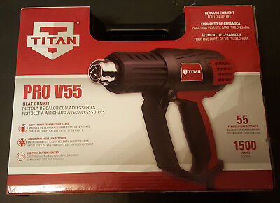Titan Heat Gun Kit Pro V55 New In Box