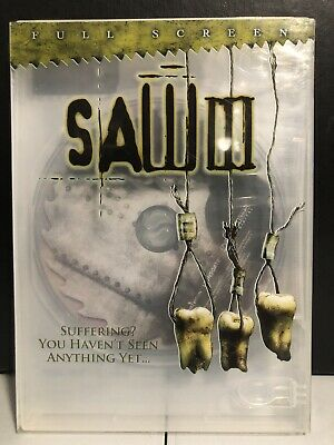 Saw III (DVD, 2007, Unrated Widescreen)-Horror