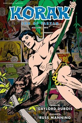 Korak, Son Of Tarzan Archives Volume 2 by Gaylord DuBois 9781616550967