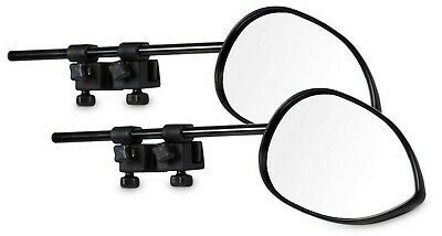2 x Milenco Aero 3 Extra Wide Convex Caravan Towing Mirrors (pair)