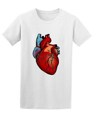 Pop Art Human Heart Retro Men's Tee -Image by Shutterstock
