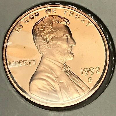 1992-S Lincoln Memorial Cent Proof. Collector Coin For Your Set. 5