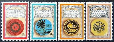 1993 Cocos Keeling Island Stamps - Early Currency of Cocos - Set of 4 MNH