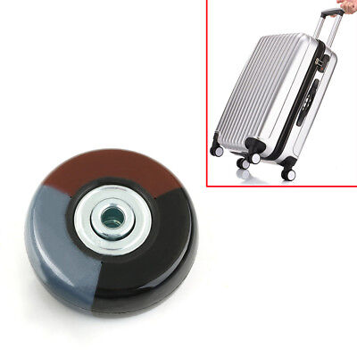 2PCs OD 50mm Luggage Suitcase Replacement Wheels Axles Deluxe Repair Kit