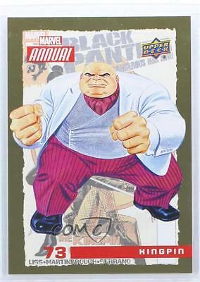 2016 Upper Deck Marvel Annual Gold #73 Kingpin Non-Sports Card 1md