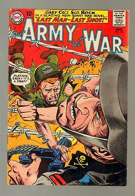 Our Army At War 152 4.5 Vg+ 1965 Dc Joe Kubert All Sgt Rock Special Issue