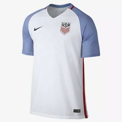 8e70976f0 Nike Dri Fit USA Stadium Home Soccer Jersey Shirt Red Blue White (724643-100