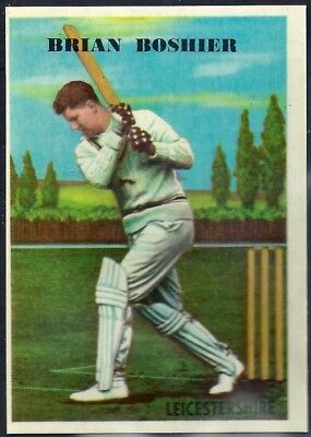 A&bc-Cricket Ers 1959-#17- Leicestershire - Brian Stanley Boshier