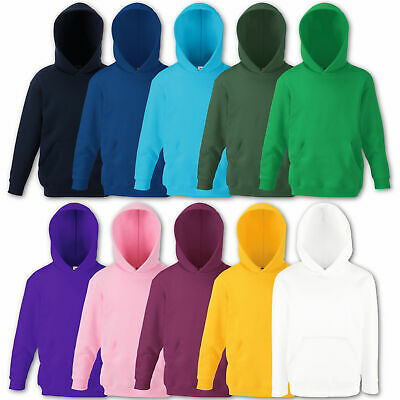 Fruit of the Loom Kinder Kapuzenpullover Hoodie Kids Classic Hooded Sweat