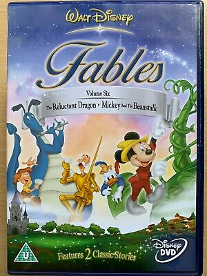 Walt Disney's Fables Volume.1 including The Legend of Sleepy Hollow UK DVD
