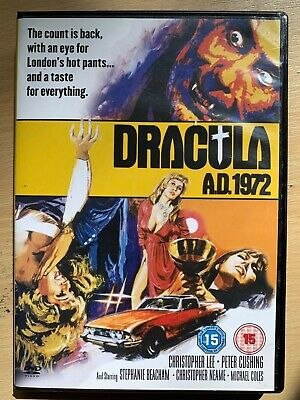 Christopher Lee Dracula A.D.1972 ~ British Hammer Horror Vampire Classico UK DVD