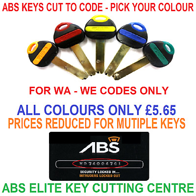 Avocet ABS Security Keys Cut To Code By Elite Key Cutting Centre
