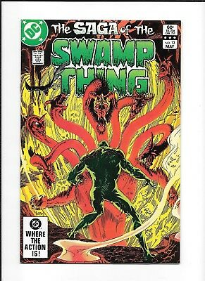 Saga Of The Swamp Thing #13 (7.5) Dc Copper