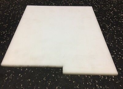 "DELRIN plate 0.25"" thick x 9.125"" wide x 11.125"" long"