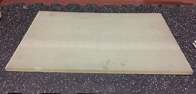 "POLYPROPYLENE PLATE 0.5"" thick x 15.625"" wide x 24"" long"