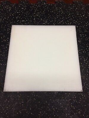 "POLYPROPYLENE plate 1"" x 12"" x 12"" long"