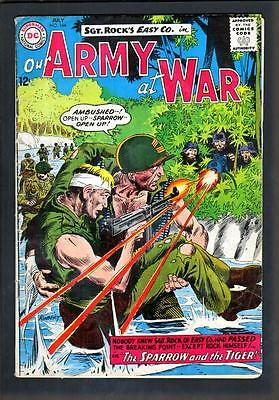 Our Army At War 144 4.5 Vg+ 1964 Dc Joe Kubert Sgt Rock Easy Company