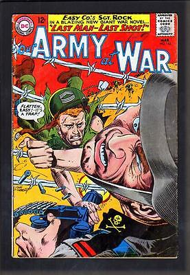 Our Army At War 152 4.5 Vg+ 1965 Dc Joe Kubert All Sgt Rock