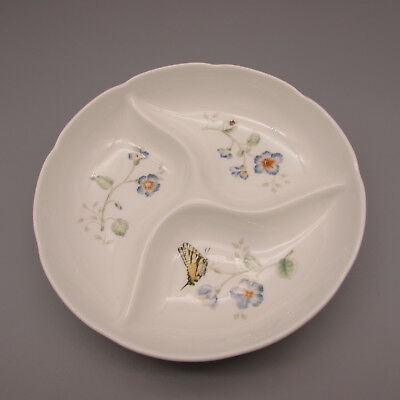 Lenox China BUTTERFLY MEADOW 3-Part Relish
