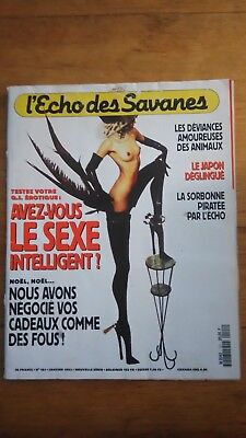 L'Echo des savanes - 1992 - N°101  BD ADULTE EROTIQUE
