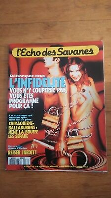 L'Echo des savanes - 1994 - N°133  BD ADULTE EROTIQUE