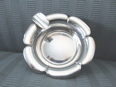 RICHARD DIMES South Boston MA Ashtray STERLING SILVER .925 Floral Inspired NM