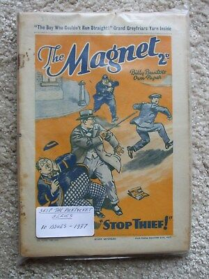 """The Magnet (Billy Bunter) - """"Skip The Pickpocket"""" Series (10 Issues)"""