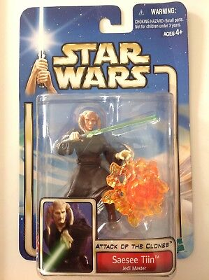 Star Wars Episode 2 Attack of the Clones Seasee Tiin Jedi Meister