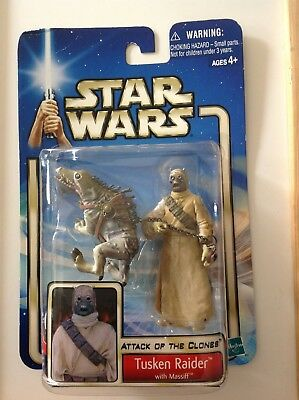 Star Wars Episode 2 Attack of the Clones Tusken Raider with Massiff