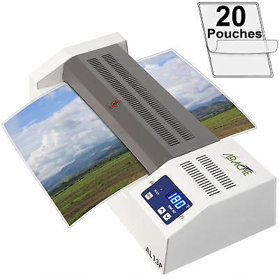 13 Inch Professional A3 Size 4 roller Laminator Thermal Laminating Machine