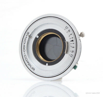 Synchro-Compur Shutter and Aperture -Only- (13a-21)
