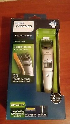 Philips Norelco Beard trimmer Series 3500, 20 built-in length settings ,QT4018/