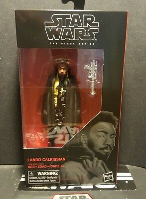 "Star Wars Black Series Wave 16 Lando Calrissian Figure from Solo Film 6"" MIMB"