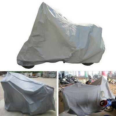 Motorcycle Moped Cover Waterproof Bike Outdoor Rain Dust UV Protector M Size RS1